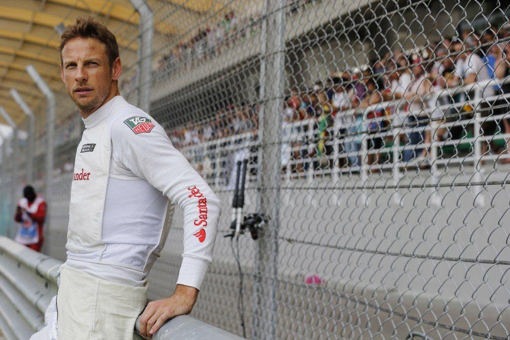 Jenson Button, McLaren media