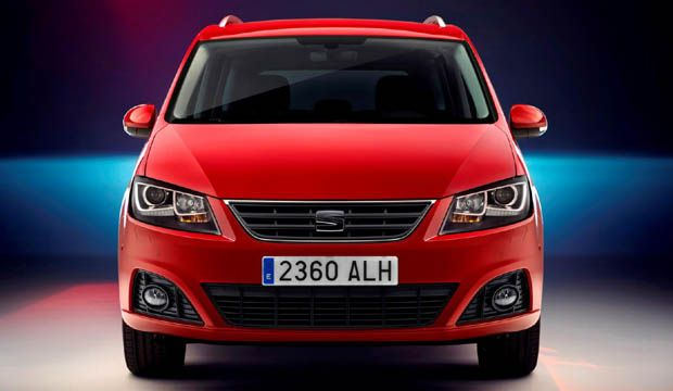 Seat Alhambra facelift breaks cover with improved engine lineup
