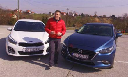 Mazda 3 i Kia Ceed